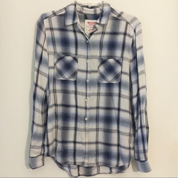 659e27d8 Mossimo Supply Co. Tops | Mossimo Boyfriend Fit Flannel Small | Poshmark